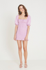 ANNIBELIS MINI DRESS - PLAIN IRIS