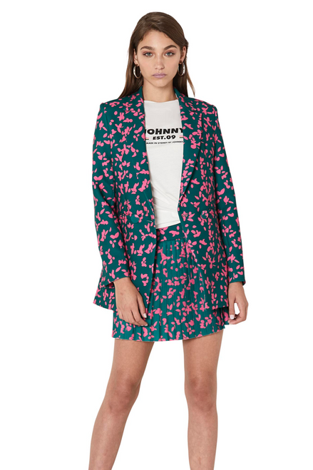 Petal Punch Structured Blazer - Petal Punch Floral