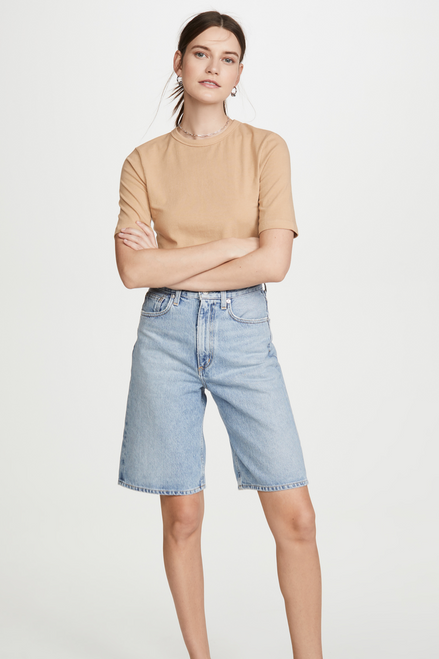 ELIE FITTED TEE - NOODLE