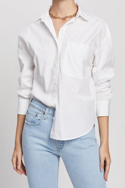 The Relaxed Shirt | Bright White