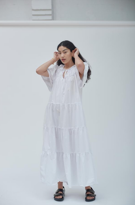 SALLY DRESS IN WHITE