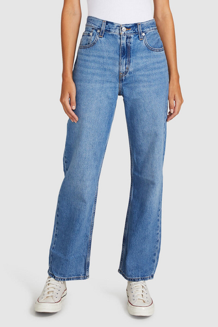 LOOSE STRAIGHT JEANS in Whatever