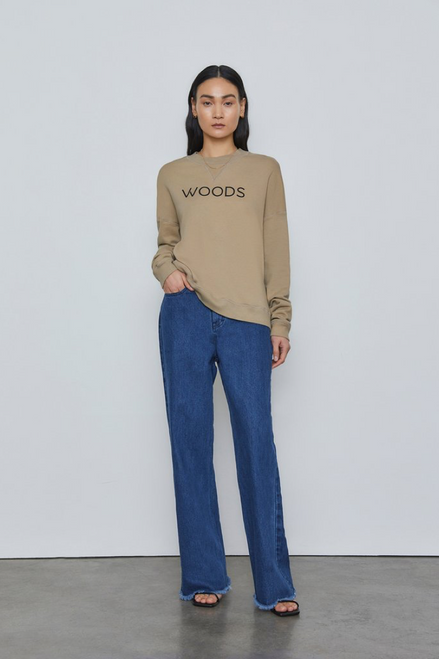 WOODS SWEATER TAUPE