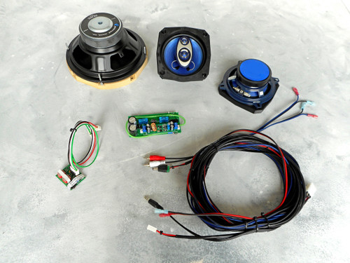 PinWoofer WPC Pinball Amplifier and Speakers