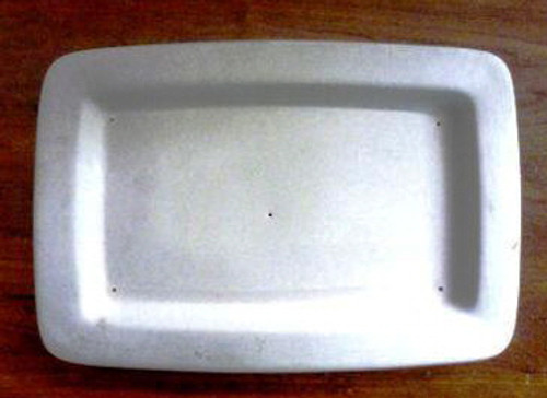 RECTANGLE PLATE W/LIP 880 GLASS MOLD