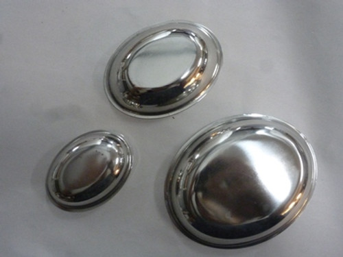 STAINLESS OVAL CUP SET