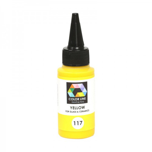 YELLOW COLOR LINE ENAMEL PEN