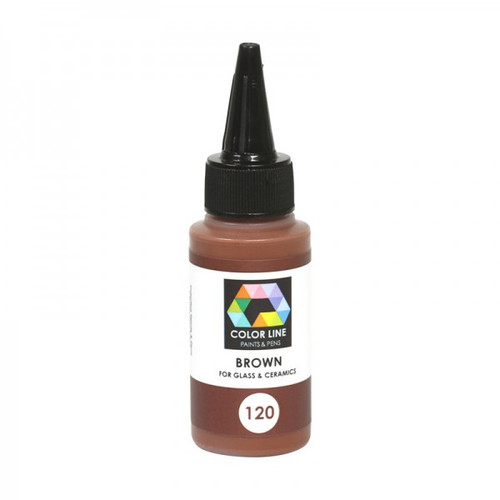 BROWN COLOR LINE ENAMEL PEN