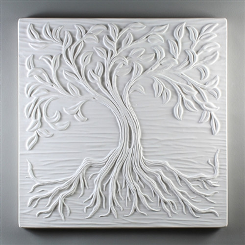 "DT18 TREE OF LIFE TILE 12""X12"""