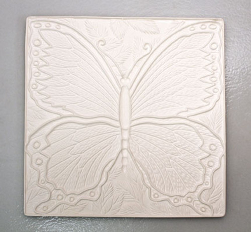 DT30 SQUARE BUTTERFLY TEXTURE 10""
