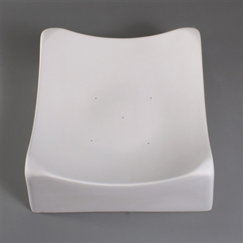 GM02 6.5IN SQUARE SLUMP GLASS MOLD