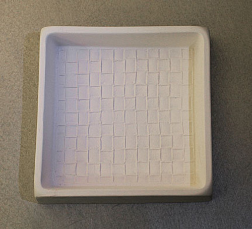 GM129 WEAVE COASTER DAM GLASS MOLD