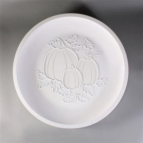 GM169 ROUND HARVEST PLATTER GLASS MOLD