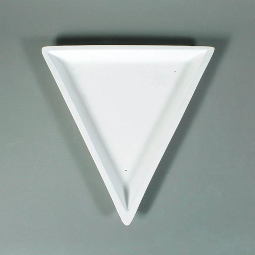GM174 MEDIUM TRIANGLE SLUMP GLASS MOLD