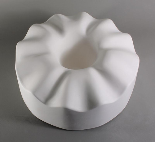 GM187 RUFFLED CONTROL DROP FLOWER GLASS MOLD