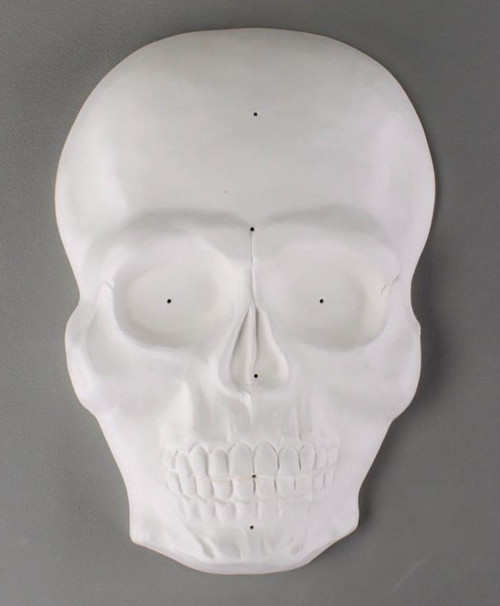 GM214 SKULL MASK DRAPE GLASS MOLD