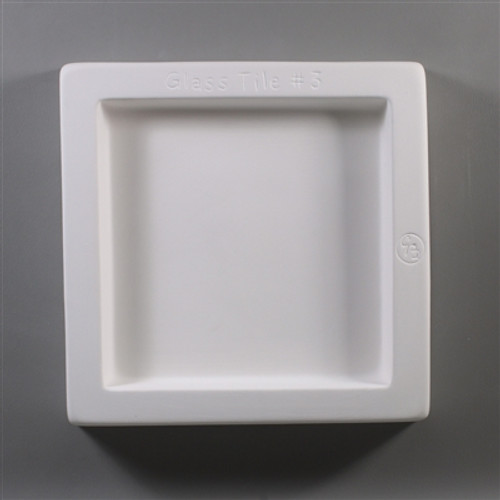 GT03 6IN GLASS TILE FRIT MOLD