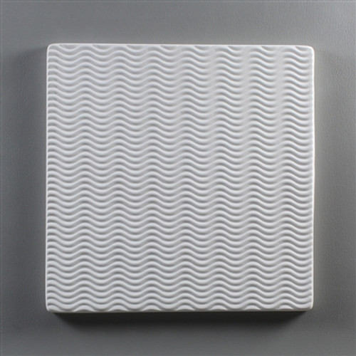 GX03 SQ. WAVE TEXTURE PLATE 6IN