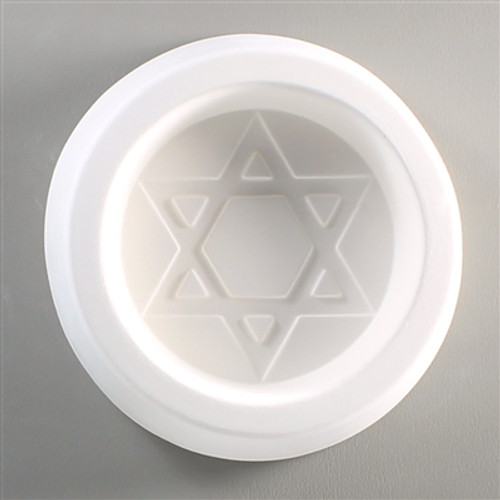 LF06 STAR OF DAVID GLASS FRIT MOLD