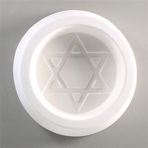 LF06 STAR OF DAVID GLASS FRIT MOLD