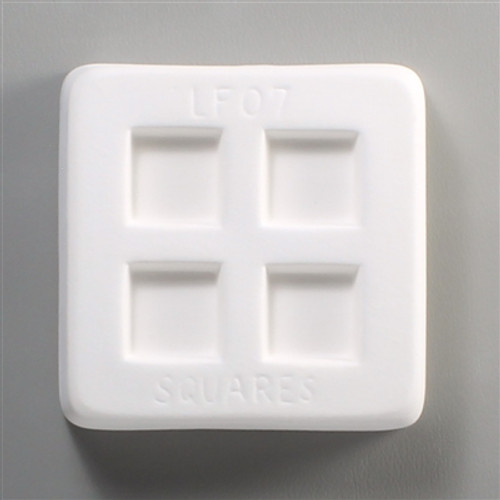 LF07 JEWELRY 4 SQUARES FRIT GLASS MOLD