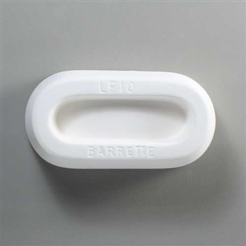 LF10 JEWELRY BARETTE GLASS  FRIT MOLD
