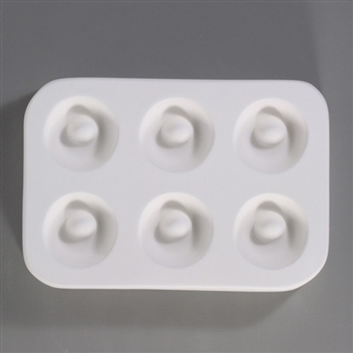 LF101 JEWELRY 6 HOLEY HOOPS GLASS MOLD