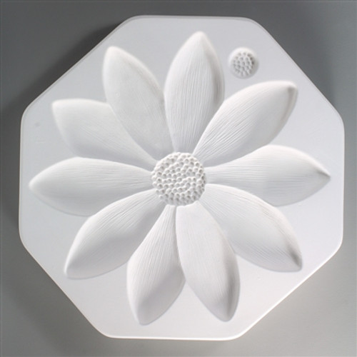 LF104 LARGE SUNFLOWER GLASS FRIT DAM MOLD