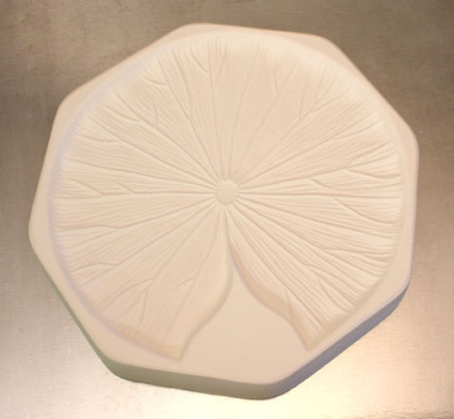 LF121 LILY PAD FRIT CAST GLASS MOLD