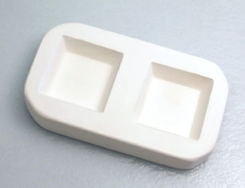 LF126 JEWELRY CAST-A-CAB SQUARES GLASS MOLD