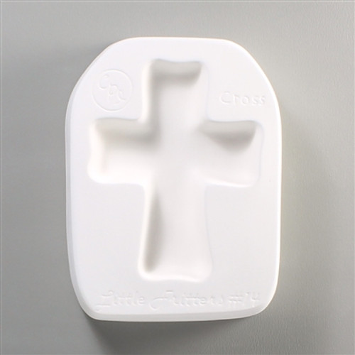 LF14 CROSS GLASS  FRIT MOLD