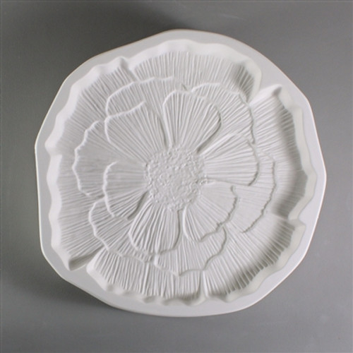 LF141 PATTY GRAY POPPY FLOWER GLASS MOLD