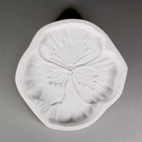 LF142 FLOWER FRIT PANSY GLASS MOLD