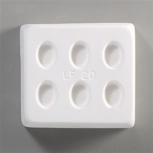 LF20 JEWELRY MINI OVALS FRIT GLASS MOLD