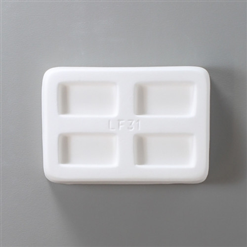 LF31 JEWELRY 4 RECTANGLES GLASS MOLD