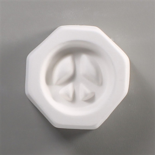LF58 HOLEY PEACE CABOCHON GLASS MOLD