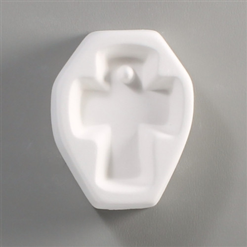 LF60 HOLEY CROSS CABOCHON GLASS MOLD