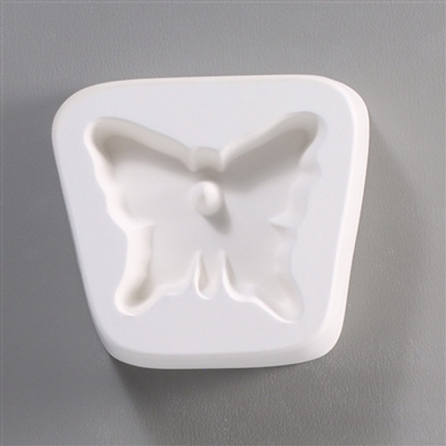 LF67 HOLEY BUTTERFLY CABOCHON GLASS MOLD