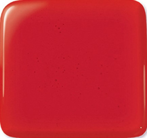 CHERRY RED  TRANS 12x12 COE96 FUSIBLE GLASS
