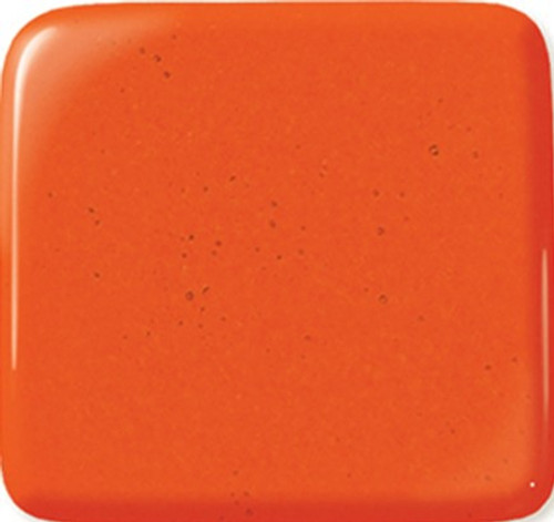 ORANGE  12x12 COE96 FUSIBLE GLASS