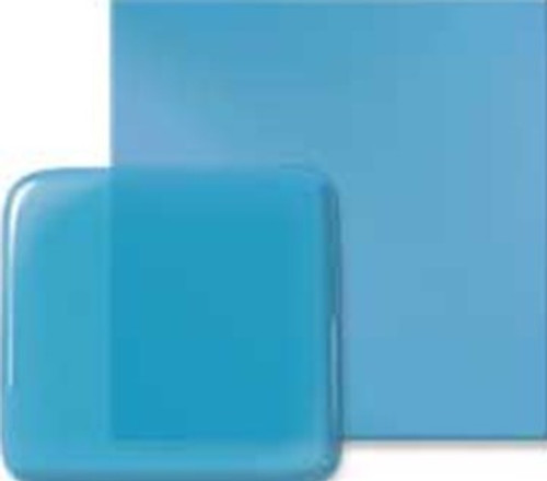 BLUE TOPAZ 12x12 TRANS COE96 FUSIBLE GLASS