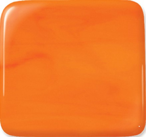 ORANGE OPAL 12x12 COE96 FUSIBLE GLASS