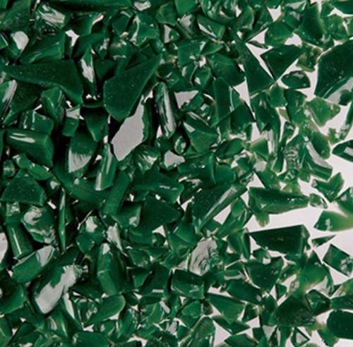 DARK GREEN OPAL FINE FRIT 8.5 oz