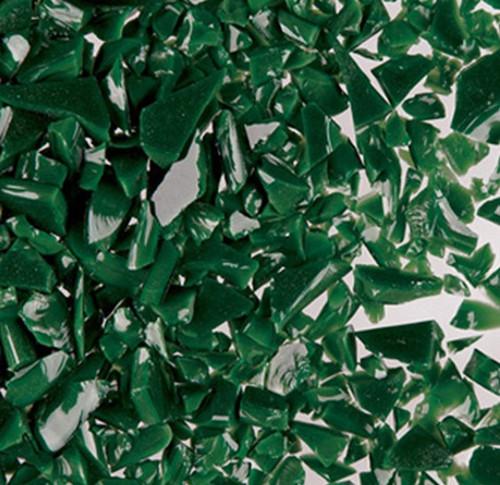 DARK GREEN OPAL MEDIUM FRIT 8.5 oz