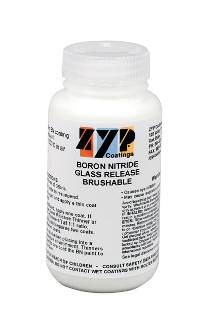 ZYP BRUSHABLE BORON GLASS RELEASE QT
