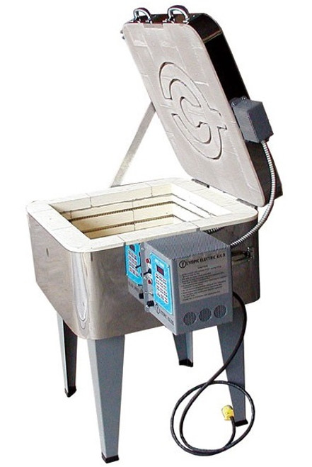 Olympic 186 GFE Square Glass Kiln Package