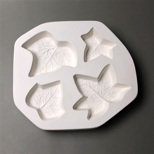 LF183 IVY LEAVES FRIT GLASS MOLD