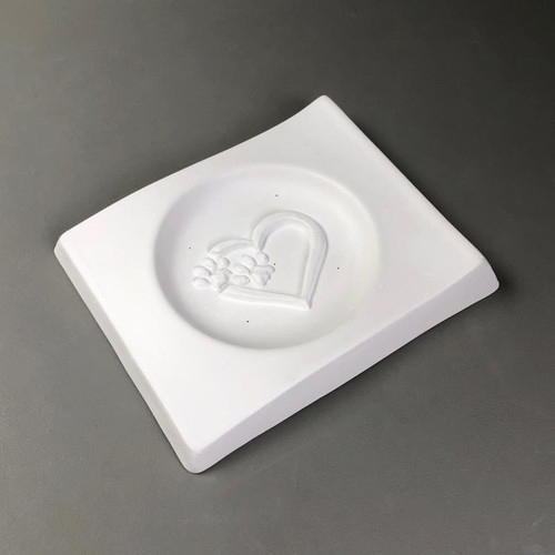 GM244 Cat Dish Slump Glass Mold