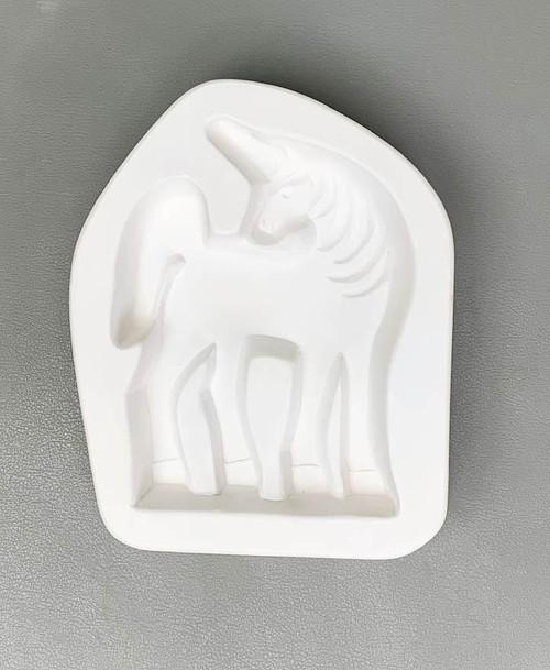 LF189 Unicorn Standup Frit Glass Mold