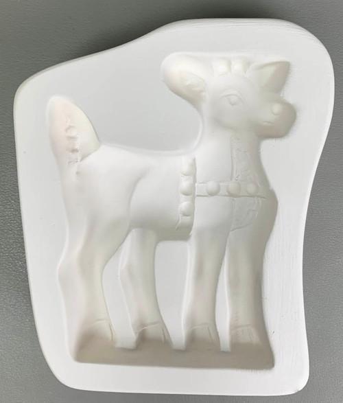 LF193 Deer Frit Standup Glass Mold